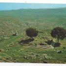 Bergama Turkey Zeus ve Bergama Ruins Pergamon Altar Postcard Continental 4X6