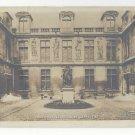 France Paris Museum Cour D'Entree Musee Carnavalet Vtg A. Moutet Postcard