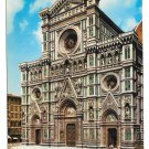 Italy Florence Cathedral Firenze Vtg 4X6 Postcard 1966