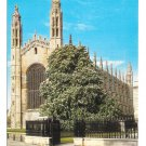 UK Cambridge King's College Chapel East End Jarrold Vintage Postcard 4X6