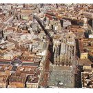Italy Milan Milano Cathedral Square Aerial View Royal Palace Vtg Postcard 4X6