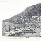 Italy Amalfi Marina Boats Vtg Brangi Postcard ca 1905 UDB