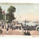 UK England Isle of Wight Yacht Club Cowes I. o. W. Boats Postcard Vintage c 1910