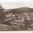 UK Scotland Abbotsford House Sir Walter Scott Home From South Vtg Valentines Postcard