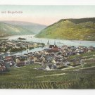 Germany Bingen und Bingerbruck Rhein River Dr Trenkler Co Postcard Vintage c 1910