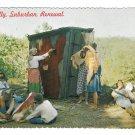 Ozarks Missouri Hillbilly Humor Suburban Renewal MO Vtg 4X6 Comic Postcard