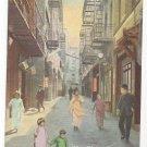CA San Francisco Old Chinatown Street Scene Vintage Postcard PNC