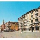 Italy Venice Riva degli Schiavoni Hotel Lonres Beau Rivage Vtg Postcard 4X6 Venezia