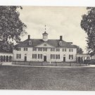 VA Mount Vernon West Front Home of George Washington Vintage Virginia Postcard