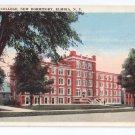 NY Elmira College New Dormitory Rubin Bros Vintage Postcard