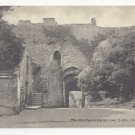 UK Isle of Wight Carisbrooke Castle Courtyard England Vtg T Piper Postcard