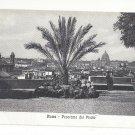 Roma Italy Rome Panorama dal Pincio Vintage Postcard