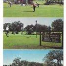 Twin Brooks Golf Club St Petersburg Florida Multiview Jim Helinger Vintage Postcard