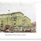 Canada Toronto King Edward Hotel Vintage Private Postcard MacFarlane