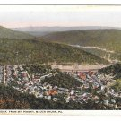 PA Mauch Chunk Birds Eye View From Mt Pisgah Vintage Toshs Dept Store Postcard