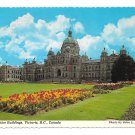 Canada Victoria BC Legislative Buildings Vtg Jphn Barnard Postcard 4X6