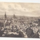 Englalnd UK Oxford Birds Eye Aerial View Vtg Frith's Postcard ca 1910