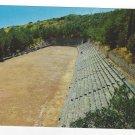 Greece Delphi Stadium Ancient Greek Ruins Vtg Postcard 4X6