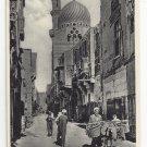 Egypt Cairo Native Quarter Lehnert & Landrock Photographers Vintage Postcard No 122