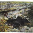 WY Lander The Sinks Intake Popo Agie River Popoagie Wyoming Linen Postcard