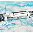 NASA Spacecraft Gemini 12 JFK Space Center Astronauts Lovell Aldrin Vtg Postcard