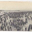 Atlantic City NJ Bathing Hour Victorian Bathing Suits Beach Canopies Tents UDB Postcard