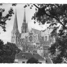 France Chartres Cathedral Notre Dame South Side GREFF Glossy Photo Postcard 4X6