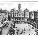 France Lyon Place de Terreaux Square Glossy Photograph Vintage X Goutagny Postcard