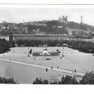 France Lyon Birds Eye View Place Bellecour Glossy Photograph X Goutagny Postcard