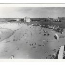 France Saint Briac Plage du Port Hue Beach Glossy GABY Photo Vintage 1950 Postcard