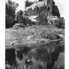 France St Flour Chateau de Sailhant Flor Glossy Photo Marceau Carriere Postcard