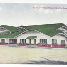 CA Long Beach Calvary Presbyterian Church Vintage Van Ornum Postcard California