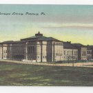Pittsburg PA New Carnegie Library Building ca 1908 Postcard Vintage Unused