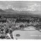 Austria Bregenz am Bodensee Panorama View Werner Branz Glossy 4X6 Photo Postcard