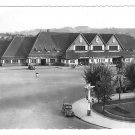 France Deauville La Plage Fleurie Train Station La Gare Glossy Photo Postcard 4X6