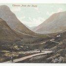 Scotland Glencoe from the Study Argyll Vtg Marshall Wane Caledonia Series Postcard c1910