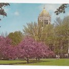 Allentown PA Muhlenberg College Campus Library Building Vintage 1984 Postcard