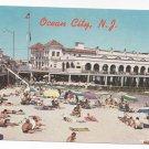 Ocean City NJ Beach Music Pier Boardwalk Freeman Vintage Postcard Don Ceppi