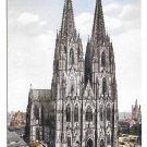 Germany Koln Dom Westseite Cologne Cathedral Vtg Karl Rud Postcard