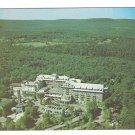 PA Buck Hill Falls The Inn Hotel Pocono Mts Aerial View Vtg 1953 Postcard Pennsylvania