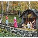 North Pole NY Adirondacks Santa Claus Nativity Pageant Mike Roberts Postcard