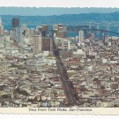 San Francisco CA View from Twin Peaks Bay Bridge Vintage Postcard 4X6
