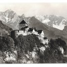 Liechtenstein Castle Schloss Vaduz Vintage 4X6 Real Photo Postcard RPPC