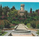 Greece Rhodes Flower Garden Rodos Rodi Mosaic Walks 4X6 Postcard