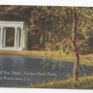 CA San Francisco Golden Gate Park Portals of the Past Vntg PNC S.F. 90 Postcard