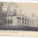 Mount Vernon VA Washingtons Home National Art Views Vintage Postcard ca 1905