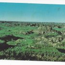 ND Medora Dakota Badlands Painted Canyon Hitching Post Vtg 1973 Postcard