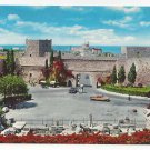 Greece Rhodes Liberty Gate Fortress Walls Rodi Rhodos Vintage Postcard 4X6
