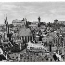 Germany Nuremberg Nurnberg Birdseye View to Castle Glossy Photo 4X6 Lauterbach Postcard