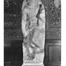 Italy Florence Art Sculpture Matthias Sketch of Michelangelo Glossy Photo Postcard